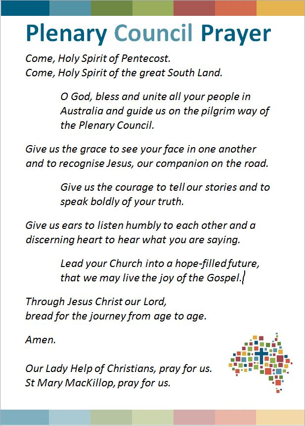 Plenary Prayer - Image